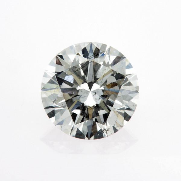 Round Cut Diamond 2.10 Carat J Color SI2 Clarity IGI LG10233912