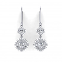Monte Carlo Halo Earrings