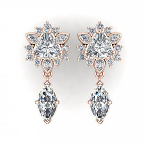 Zinnia Drop Earrings