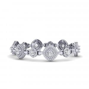 Monte Carlo Halo Bracelet