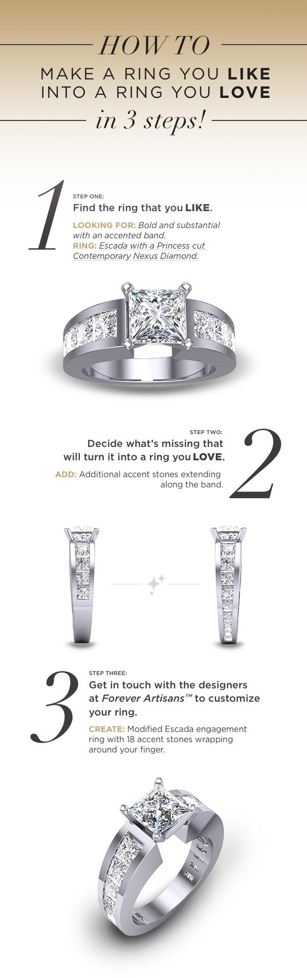 Like to Love: Modified Escana Ring