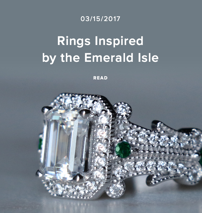 Rings Inspired by the Emerald Isle