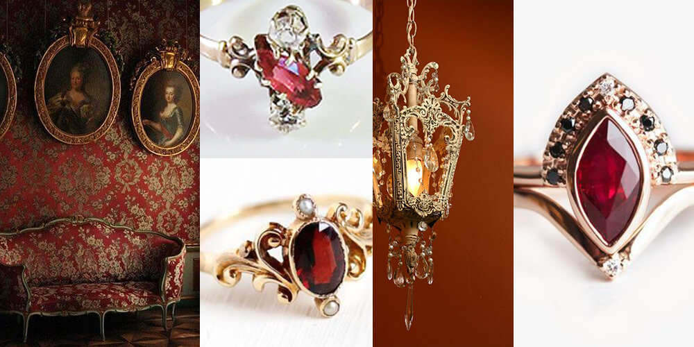 Rubies and Ornate Details