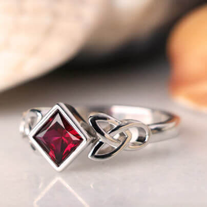 4 Jewelry Designs with Lab Grown Rubies