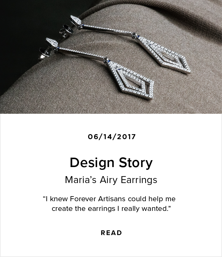Design Story: Maria's Airy Earrings