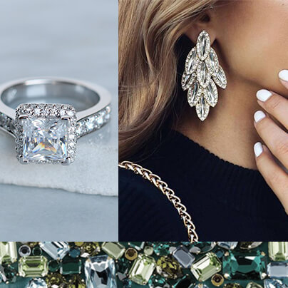 Inspiration Board: Go Glam