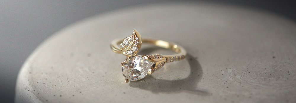 The Elderflower Statement Ring
