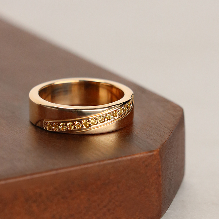 Custom Wedding Bands Inspiration