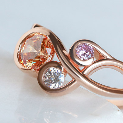 Stunning Colored Stone Engagement Rings