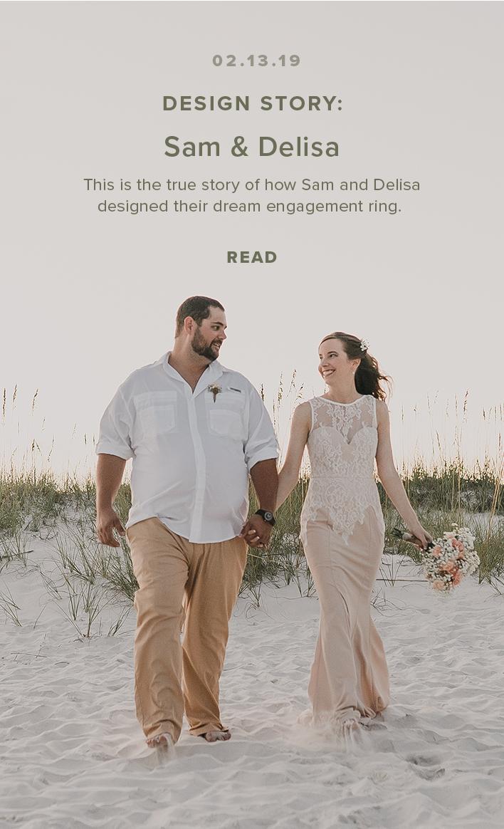 Design Story: Sam & Delisa