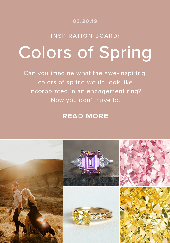Inspiration Board: Colors of Spring