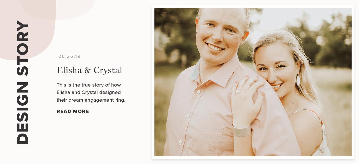 Design Story: Elisha & Crystal