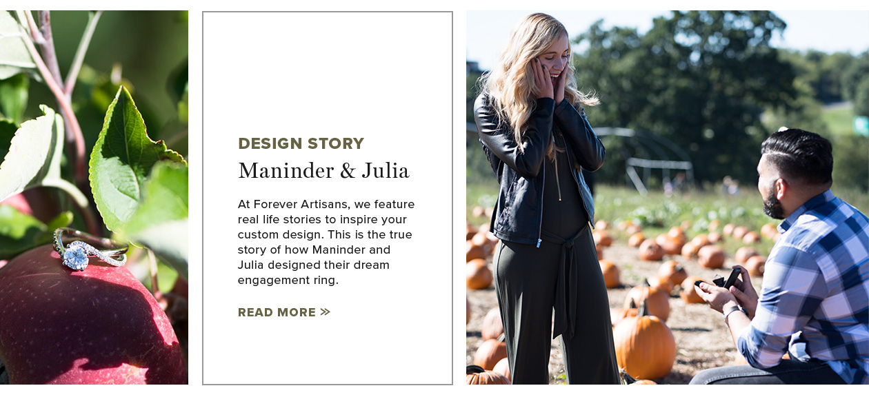 Design Story: Maninder & Julia
