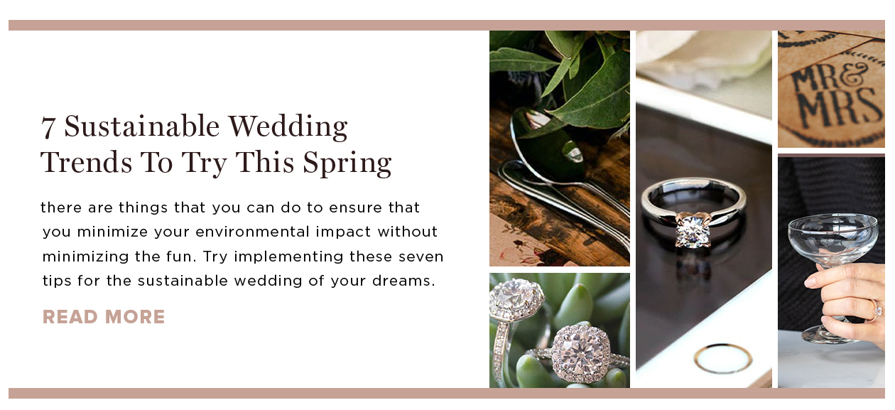 7 Sustainable Wedding Trends to Try This Spring